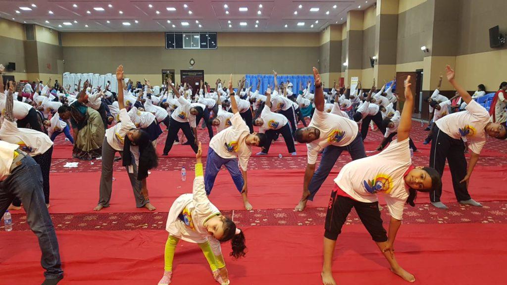 Yoga Awareness Programme In Indian Association Ajman 2019-20
